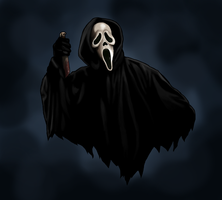 Ghostface by AnatomicalBomb