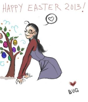 Happy Easter 2013 by Ripki
