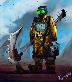 Toxic future by TrappedSquid