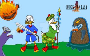 Duck Fantasy by Pancho-Girl