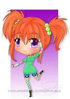 Chibi Commission - Magycal by Cieffie