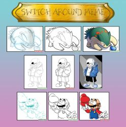Switch Around Meme by EarthGwee