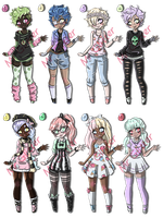 Pastel Adopts (Closed) by MrGlitter