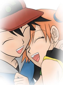 Ash and Misty by BlackStar0725