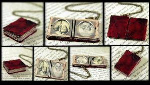 Bloved Book Locket Detail by NeverlandJewelry