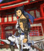 F:art - Hanzo by A-Fistful-Of-Kittens