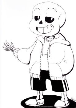 Inky - Sans by Yellow-Dragoness