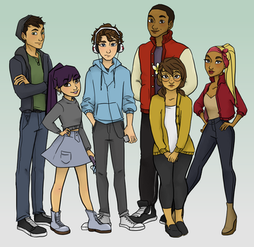 Another Cliche Bunch of Superpowered Teens by CelestialTeez