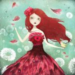 The Flower Fairy by AnneJulieAubry