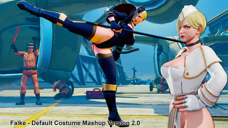 Falke - Default Costume Mashup Version 2.0 by addysun