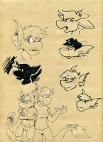 Chio Doodles by bugbyte