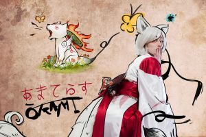 Amaterasu Okami Cosplay by Enamaeris