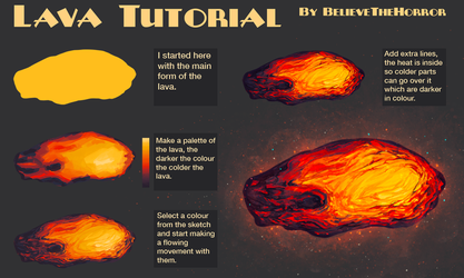 Lava Tutorial by BelieveTheHorror