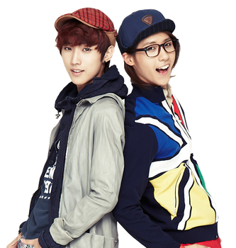 B1A4 Jinyoung and CNU Render by DubiDubiKelin