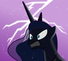 Luna is not AMUSED by SkyRings