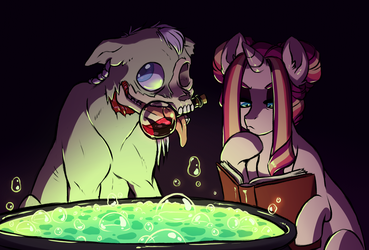 Potion Brewing by Lopoddity