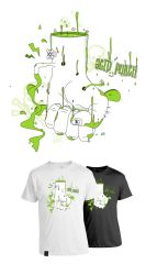 Acid Punch T-Shirt by benhewittcreative