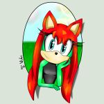 Viki the Hedgehog ID picture by TothViki