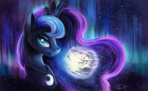 Luna - Commission by Tsitra360