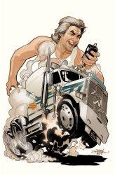 BIG TROUBLE IN LITTLE CHINA: Old Man Jack #4 Cover by TerryDodson