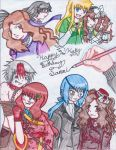 Sammi's last year b-day pic by LonelyCatAngelKaty