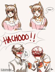 Mystic Messenger - Meow? by riotfaerie
