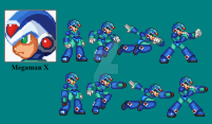 megaman X sheet by omegazeke08013