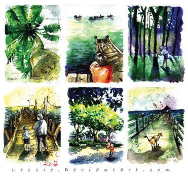 Beautiful Malaysia by Lessie
