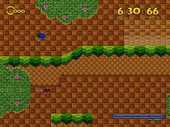 (Sonic Game Land) Green Canyon - Underground Part by TheValeev