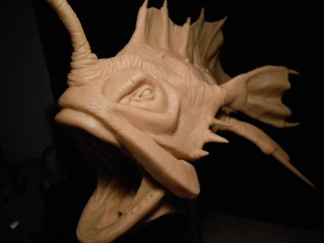 Ancient Angler fish W.I.P. by Heliot8