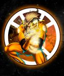 Larfleeze - Orange Lantern by BRAINandFAT