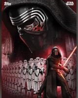 Star Wars: The Force Awakens Kylo promo poster by Artlover67