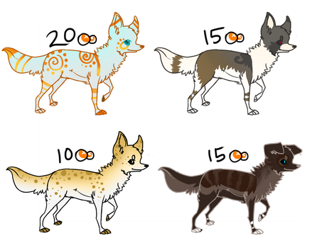 .:Open:. Adoptables 2 by TheLastFreeUnicorn