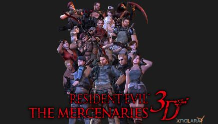 Resident Evil: The Mercenaries 3D - XPS Pack by xZombieAlix