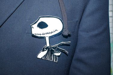 Jack Skeleton Pin by CleverTrever