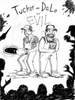 Tucker and Dale vs Evil poster by TheNoirGuy