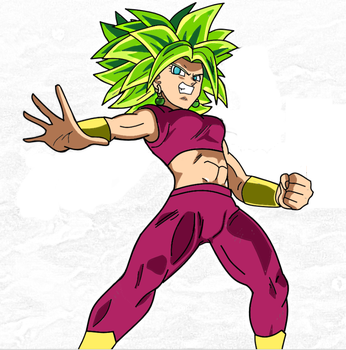 Kefla Super sayajin 2 by RockMan6493
