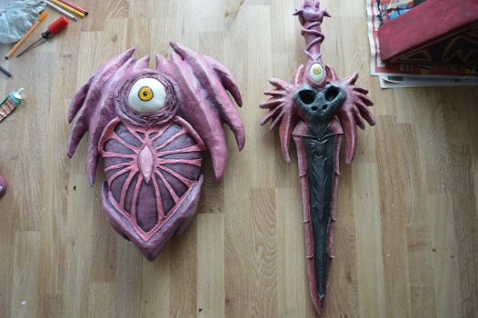 Soul Edge Sword and Shield by Kitty-0f-D00m