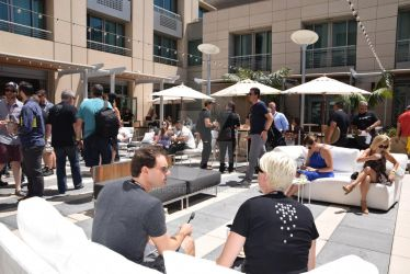 Wired Cafe at San Diego Comic-Con 2016 by Nerdgeist
