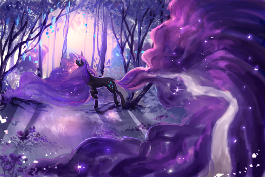 MLP A: Allure of nightmares by AquaGalaxy