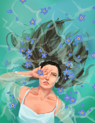 Forget Me Not by exjuice