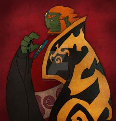 Ganondorf - the king of evil by The-Sketch-Fox