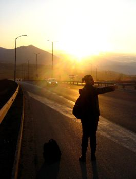 On the Road to Tarnovo by Quenia
