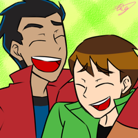 GR and BEN10 by Xing-2-Lee