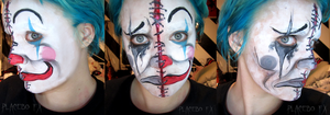 Two-faced clown by PlaceboFX
