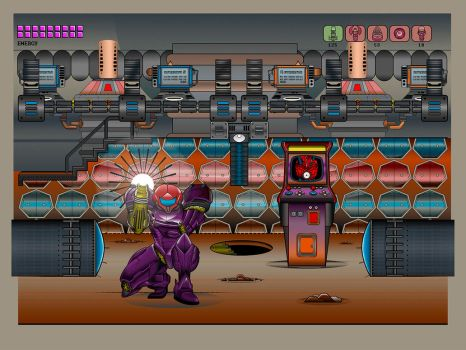 Super Metroid by Jinberdeem01