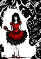 Alice Madness Returns by cookiechle726