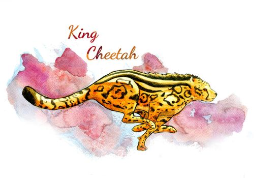 King Cheetah by Elica-Prin