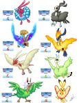 Altaria Fusions by Lanmana