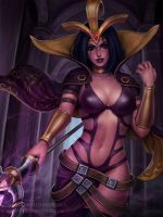 LeBlanc - League of Legends (3v) by Sciamano240